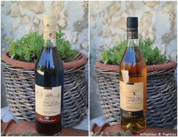 Pineau des Charentes rouge et Pineau des Charentes Blanc