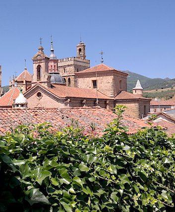 Toits du Monastère de Guadalupe