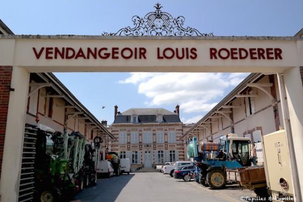 Vendangeoir Louis Roederer - Ay