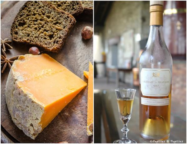 Vieille Mimolette et Pineau des Charentes