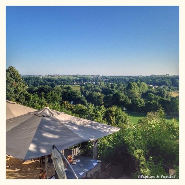 Vue sur la Charente depuis l'Yeuse