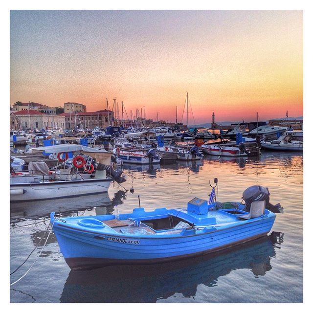 Sunset - Chania - Crète