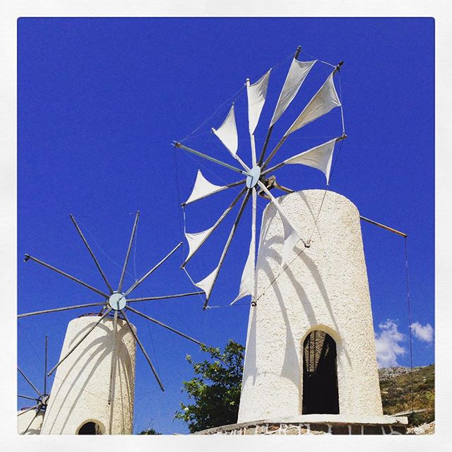 Moulins à vents - Crète