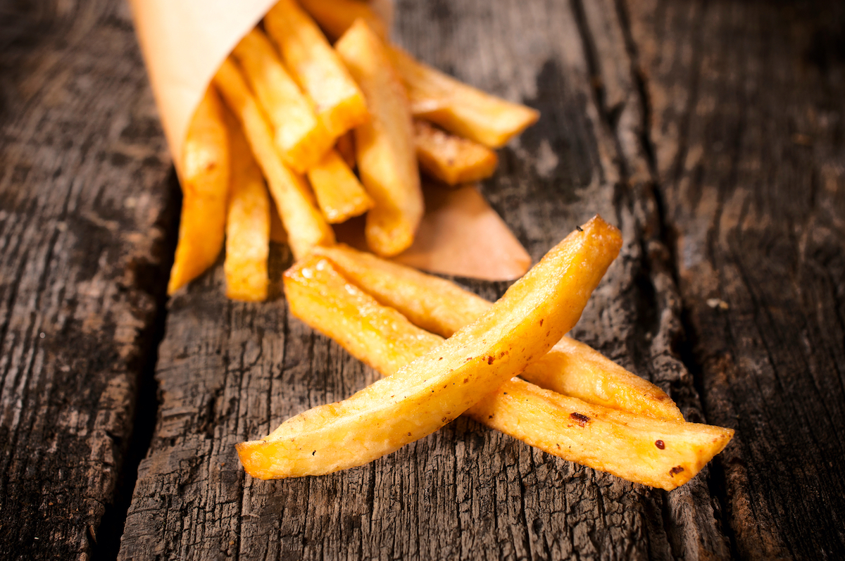 Frites ©Itummy Shutterstock