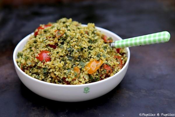 Salade de boulghour façon taboulé