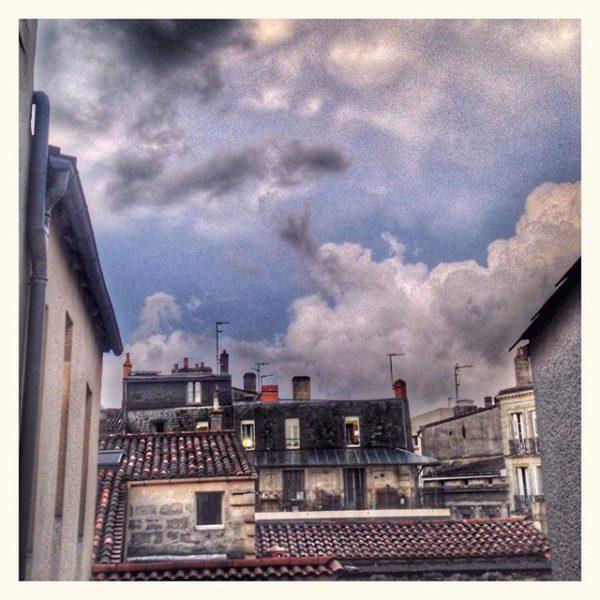 Ciel d'orage aux Chartrons