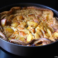 Clafoutis nectarines abricots