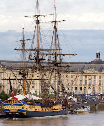 L'Hermione à Bordeaux - Credit photo Thomas Sanson