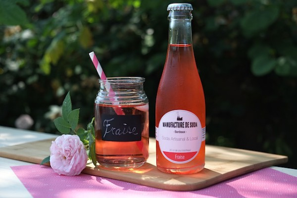 Manufacture de Soda - Soda à la fraise