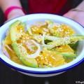 Salade orange avocat fenouil au sésame