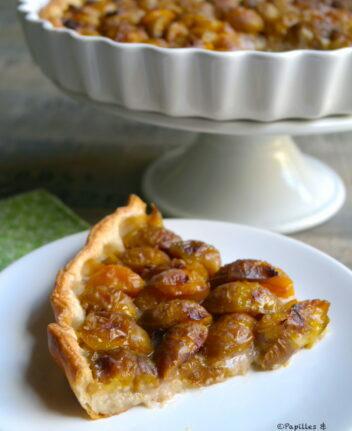 Tarte aux prunes et poudre d'amandes
