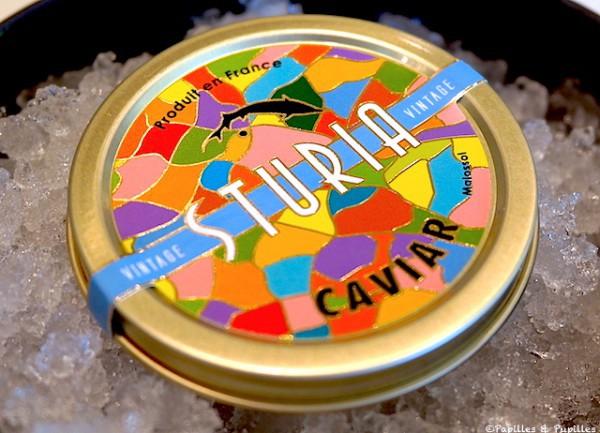 Caviar vintage Sturia