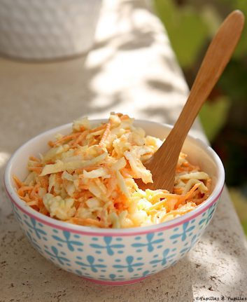 Coleslaw comme à New York