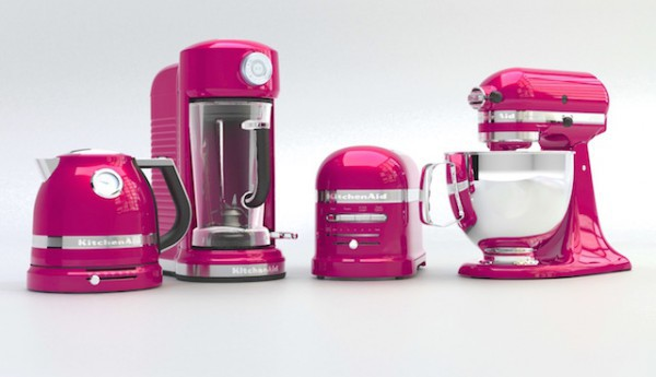 Kitchenaid rose framboise