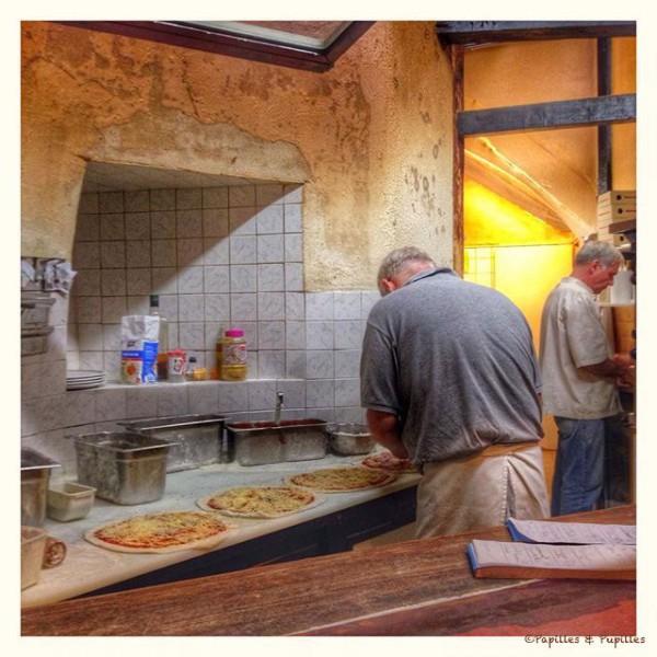 Pizza à emporter - Les délices de verone