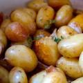 Pommes de terre grenaille en cocotte