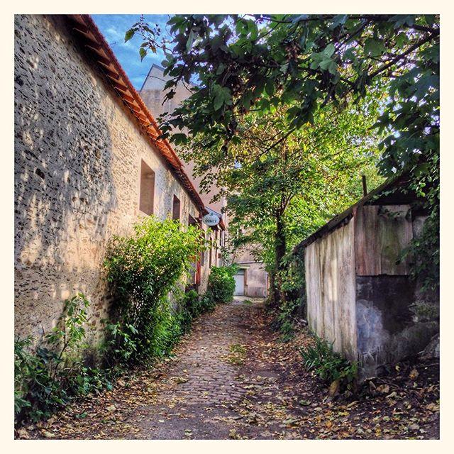 En plein cœur de Nantes, un petit chemin qui sent la noisette #LaTableDuComté