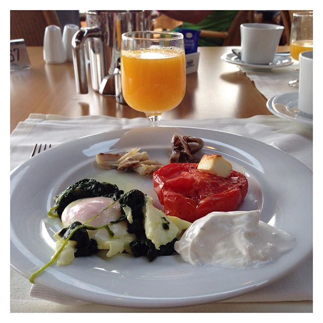 Petit déjeuner ! Bonne journée