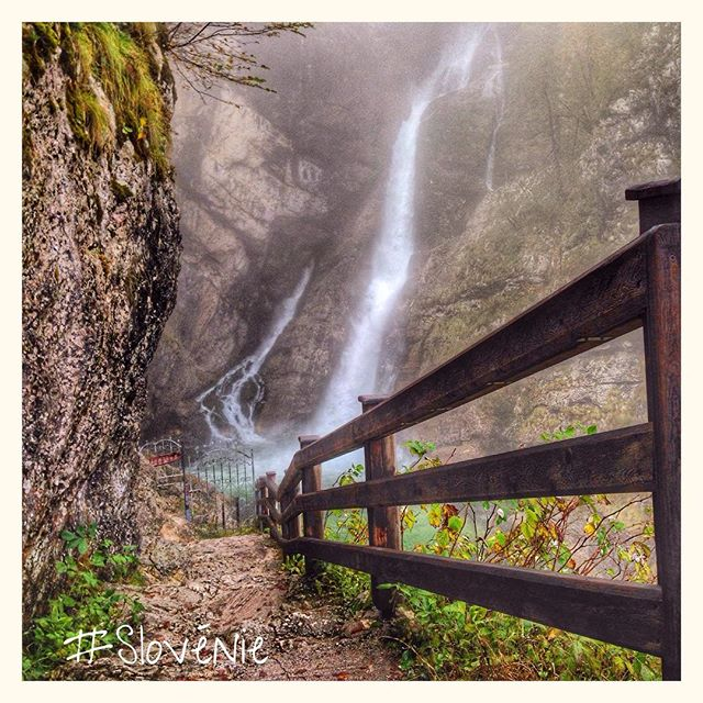 Cascade Savica - Bohinj Slovénie