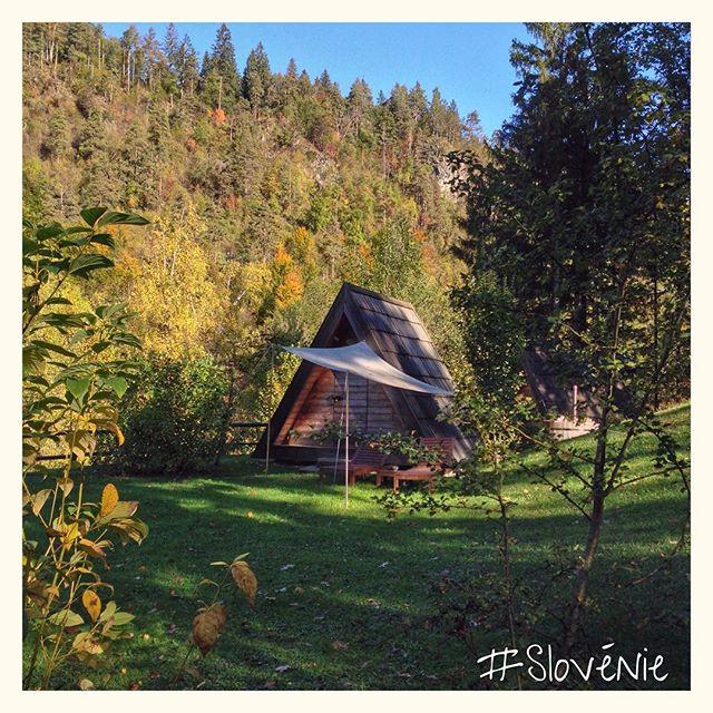 Glamping (Glamorous + camping) en Slovénie