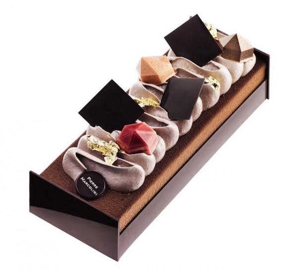 b che de no l et carr du nouvel an pierre marcolini. Black Bedroom Furniture Sets. Home Design Ideas