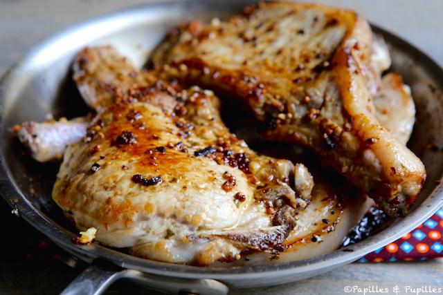 C tes de porc l 39 ail et aux graines de moutarde - Cuisiner les cotes de porc ...