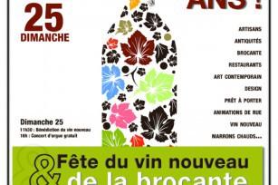Fête du vin et de la brocante - Bordeaux