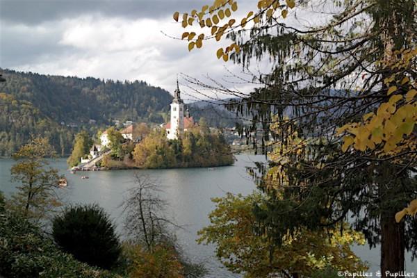 Ile - Lac Bled - Slovénie