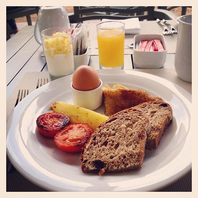 Bon petit déjeuner aux lève-tôts ☀️
