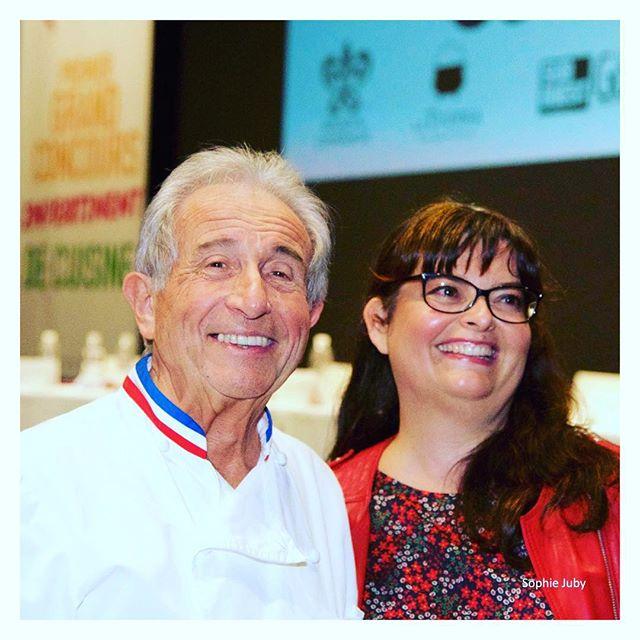 Avec Michel Guérard