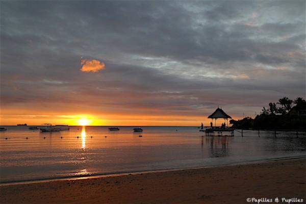 Coucher de soleil - plage- RavenalaCoucher de soleil - plage- Ravenala