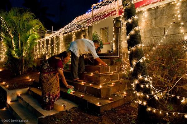 Fête de Diwali à Triolet - Ile Maurice ©Denis Lacour