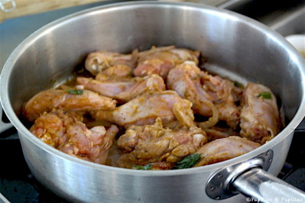 Faites dorer le poulet