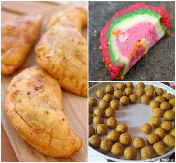 Gâteaux de Divali