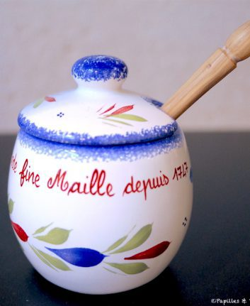 Petit pot à moutarde