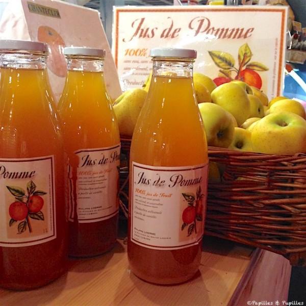 Pommes et jus de pommes de Philippe Lherme
