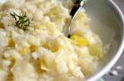 Risotto aux poireaux et au Grana Padano