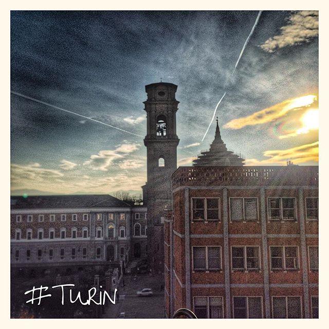 Lever de soleil sur Turin