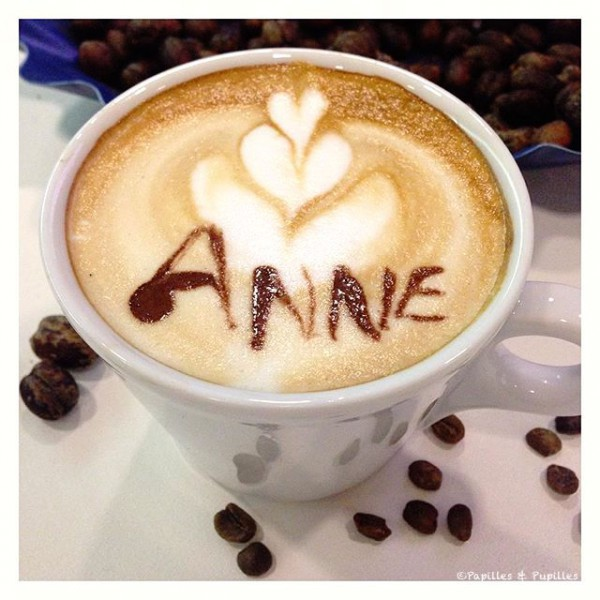 Latte Art - Anne