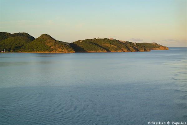Lever de soleil sur Antigua et Barbudas