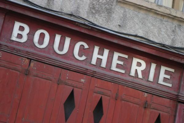 Boucherie (c) Le Bourg Heïdi CC BY-NC 2.0