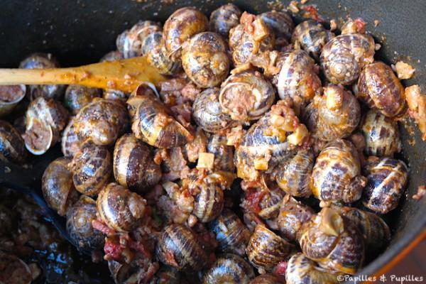 Escargots à la Charentaise