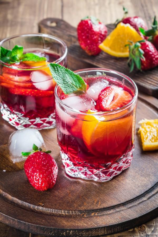 Sangria sans alcool (c) Yulia elf_inc Tropina Shutterstock