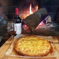 Tourte au pigeon et au foie gras