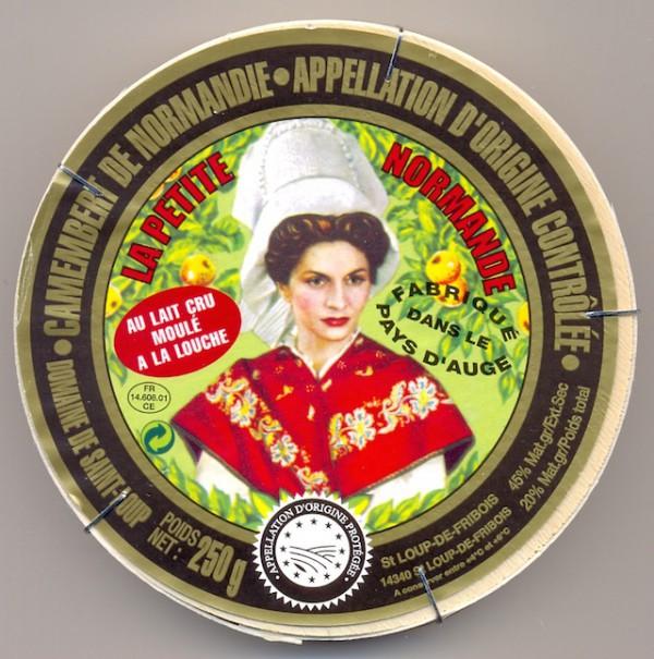 Camembert au lait cru - La petite Normande