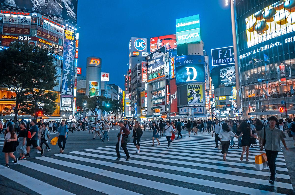 Carrefour de Shibuya ©Rei Imagine shutterstock