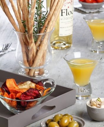 Cocktail à base de Floc de Gascogne Blanc - Le Sunflower