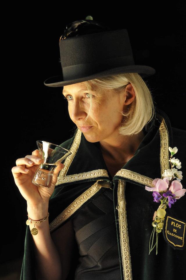 Marie Pascale Marou, Présidente de l'Académie des Dames du Floc de Gascogne