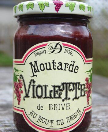 Moutarde violette de Brive ©Fonquebure CC BY-SA 3.0
