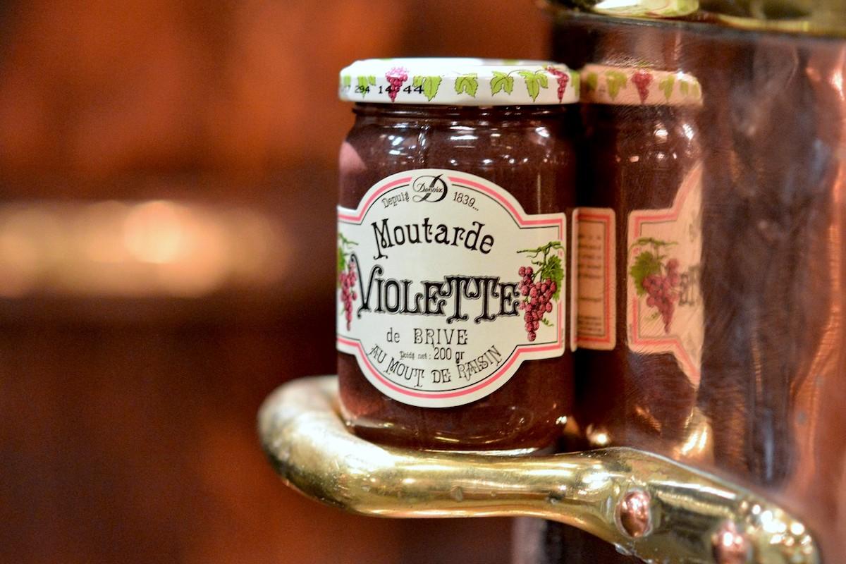 Moutarde violette de Brive - Distillerie Denoix